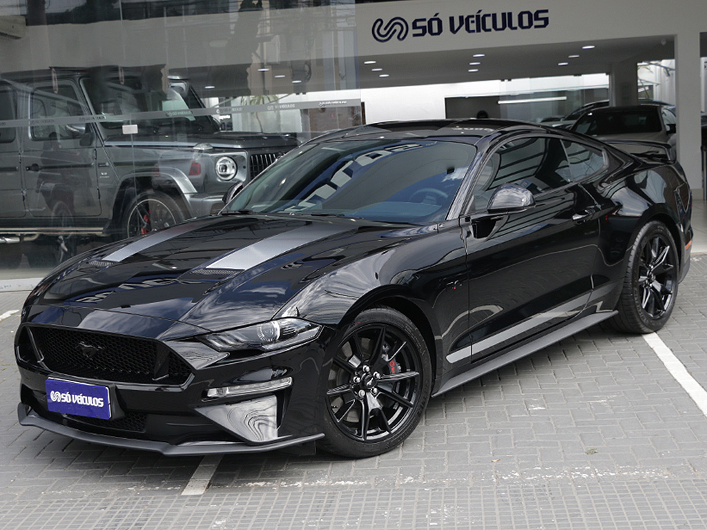 Mustang Black Shadow